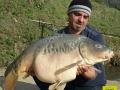 Mura Carp Lake 28 2 kg Spiegler November 2014.JPG