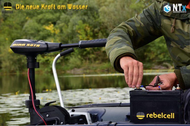 Rebel Cell LiOn Akku Batterie für Fischer – Die Kraft am Wasser