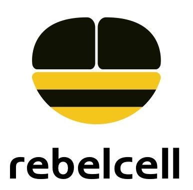 rebelcell (zwart) logo